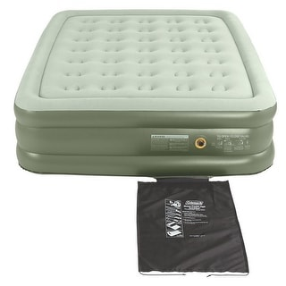 Coleman Queen Double High Quickbed Airbed Green 2000015759