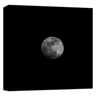 "PTM Images 9-124708  PTM Canvas Collection 12"" x 12"" - ""Moonlight"" Giclee Space Art Print on Canvas"