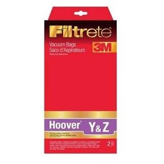 Filtrete 64703B Hoover Vacuum Bag, Type Y & Z