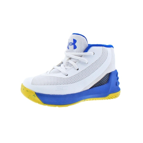 4225cbbadf50 Shop Under Armour Boys Curry 3 Basketball Shoes Colorblock Mid ...