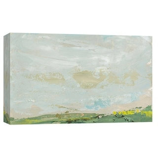 "PTM Images 9-101909  PTM Canvas Collection 8"" x 10"" - ""Landscape Study 2"" Giclee Abstract Art Print on Canvas"
