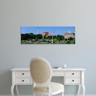 Easy Art Prints Panoramic Images's 'Hagia Sophia, Istanbul, Turkey' Premium Canvas Art