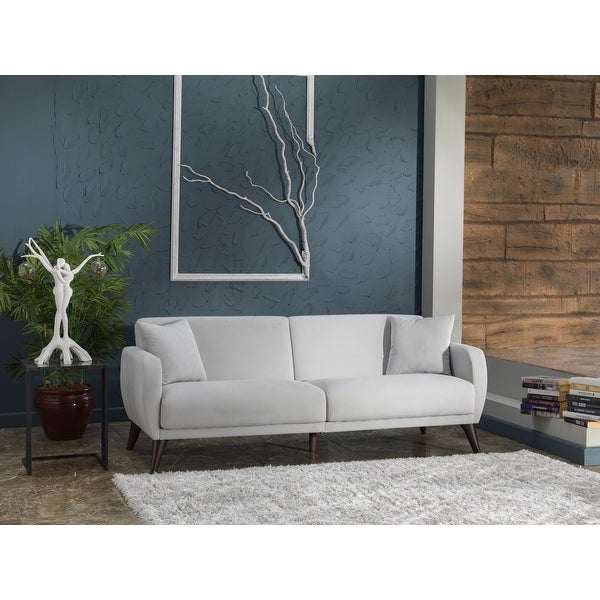 """Bellona Sleeper Sofa-In-A-Box with Storage and Stain-resistant Fabric - 33""""x79""""x31"""". Opens flyout."""