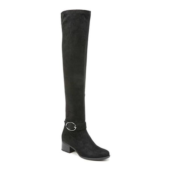 a52f1fc33ad Shop Naturalizer Women s Dalyn Over-the Knee Boot Black Microfiber ...