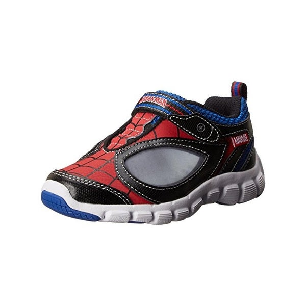 Stride Rite Boys Spidey Reflex Fashion Sneakers Light Up