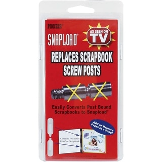 Snapload Retrofit Kit For Post Bound Albums-
