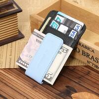 Genuine Leather Men'S Wallet Front Pocket Wallet Fashion Magnet Man Wallet And Card Id Case