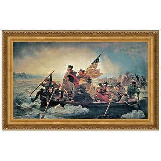 29.25X20.25 WASHINGTON CROSSING DELAWARE DESIGN TOSCANO americana america