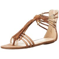 Nine West Womens Emberly Fabric Open Toe Casual Strappy Sandals