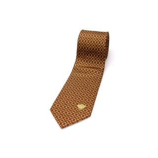 Versace Men Slim Silk Neck Tie CR8LSEB0727 0008 Red