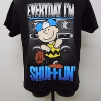 26c4acd7c Shop Peanuts Charlie Brown Youth Large (L 12 14) Available Shirt ...