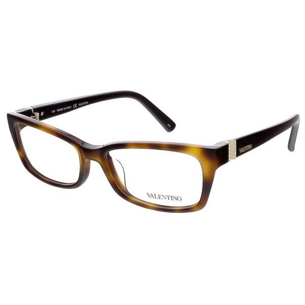 Valentino V2615R 214 Havana/Black Rectangular Valentino Eyewear - 52-16-130
