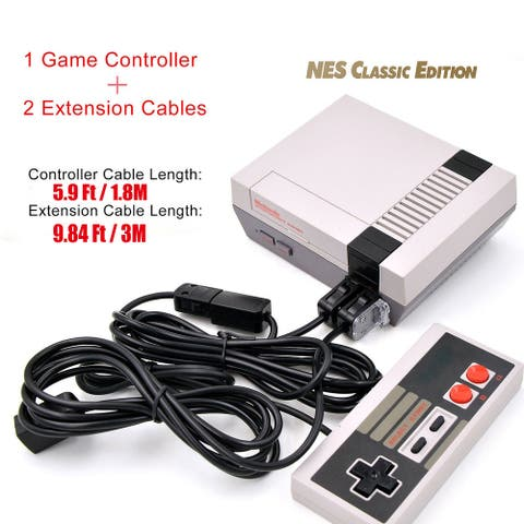 Replacement NES Classic Controller Classic Mini Wired Controller with Extension Cable 3M 10ft for Nintendo aftermarket