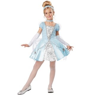 California Costumes Cinderella Deluxe Child Costume - Blue