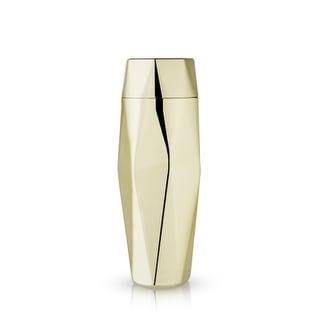 Belmont: Apex Faceted Gold Cocktail Shaker (VISKI)