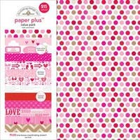 "Love - Doodlebug Paper Plus Value Pack 12""X12"" 8/Pkg"