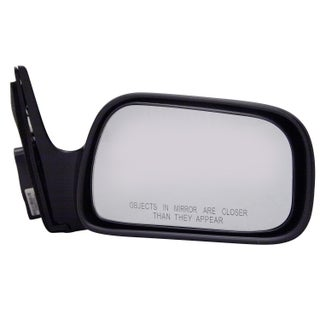 Pilot Automotive TYC 5210011 Black Passenger/ Driver Side Manual Remote Replacement Mirror for Toyota Camry