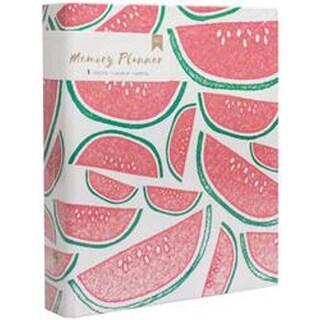 "Watermelon - American Crafts Memory Planner Binder 7.75""X8.75"""