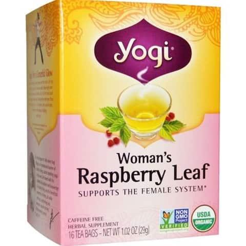 Yogi - Woman's Raspberry Leaf Tea ( 4 - 16 BAG)