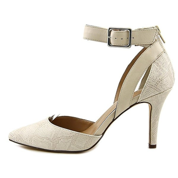 Style & Co. Womens MAISSY Pointed Toe Ankle Strap D-orsay Pumps