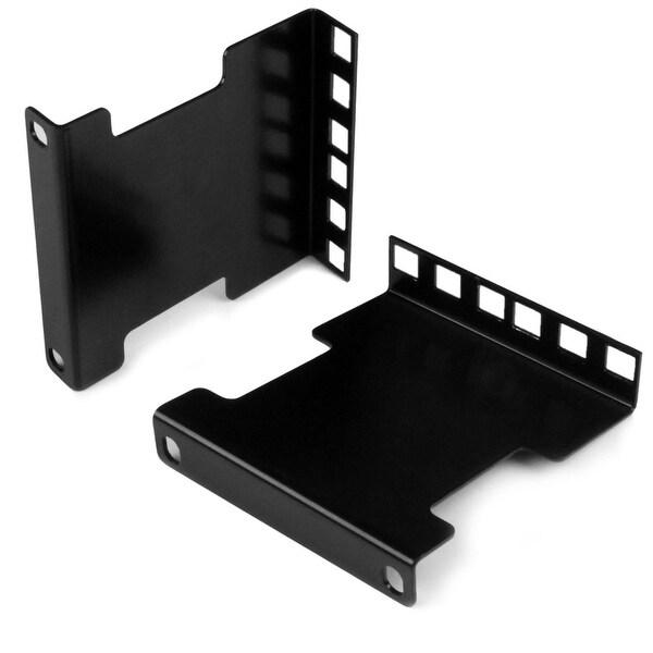 "Startech Rda2u 4"" Rail Depth Adapter Kit For Server Racks 2U - Black"