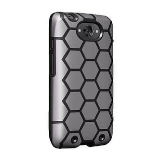 Verizon Geometric Case for Motorola Droid Turbo (1st gen) - Black/Gray