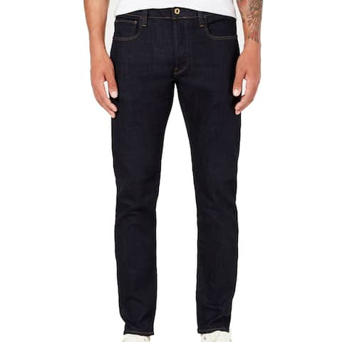 G Star Mens Jeans Rinse Blue Size 33x30 Button Fly Slim Fit Stretch