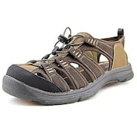 Chaps Mens Rockton Bungee Closed Toe Fisherman Sandals
