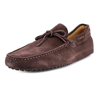 Tod's New Laccetto Occh. New Gommini 122 Men Suede Brown Moccasins