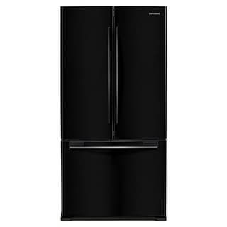 Shop Samsung RF18HFENB 32 Inch Wide 17.5 Cu. Ft. French Door Refrigerator  With Contour Doors   Free Shipping Today   Overstock.com   17772931