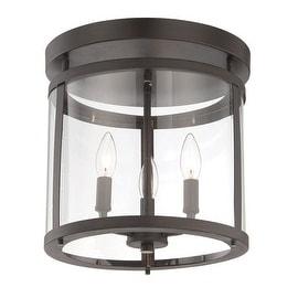 "Savoy House 6-1043-3 Penrose 3 Light 12.5"" Wide Semi-Flush Ceiling Fixture"