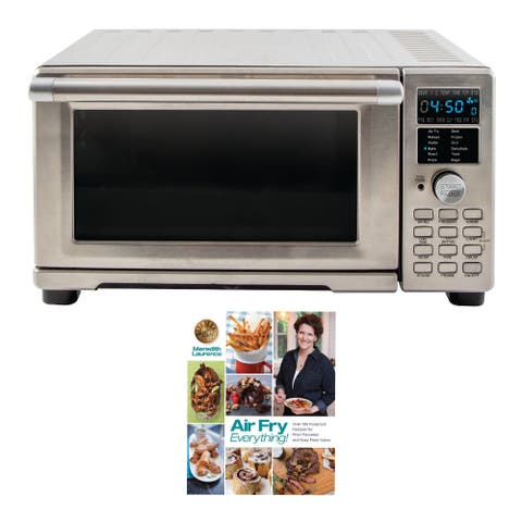 NuWave Bravo XL Air Fryer Toaster Oven with Air Fry Cookbook