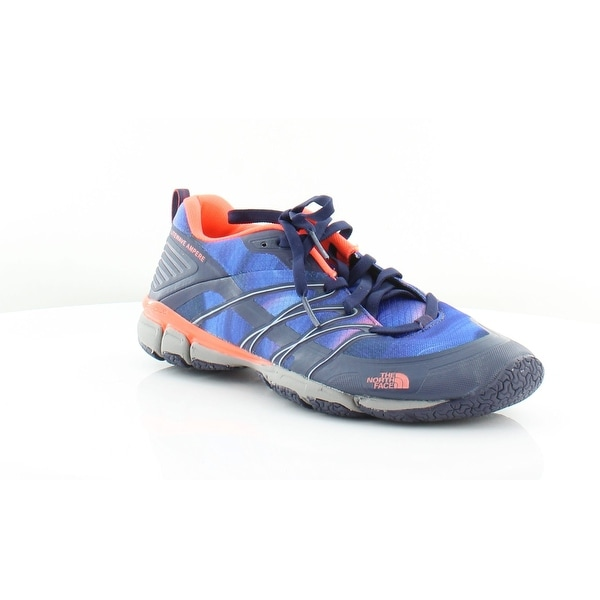 North Face Litewave Women's Athletic Patriot Blue Print/Tropical Coral - 8.5
