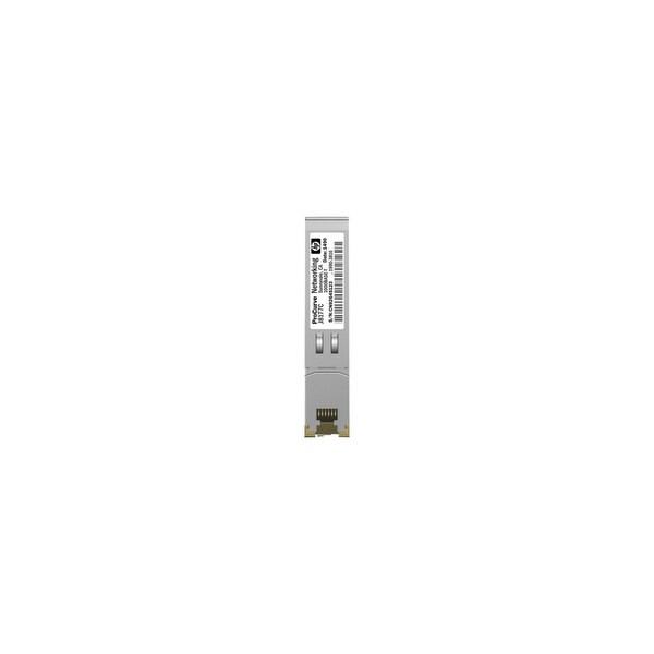 HP X120 Gigabit Ethernet SFP Transceiver JD089B HP Gigabit Ethernet SFP (mini-GBIC) Transceiver - 1 x 1000Base-T1