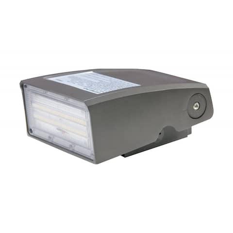 60 Watt Adjustable LED Wall Pack CCT Selectable 7200-7500 Lumens DLC - 60 Watt