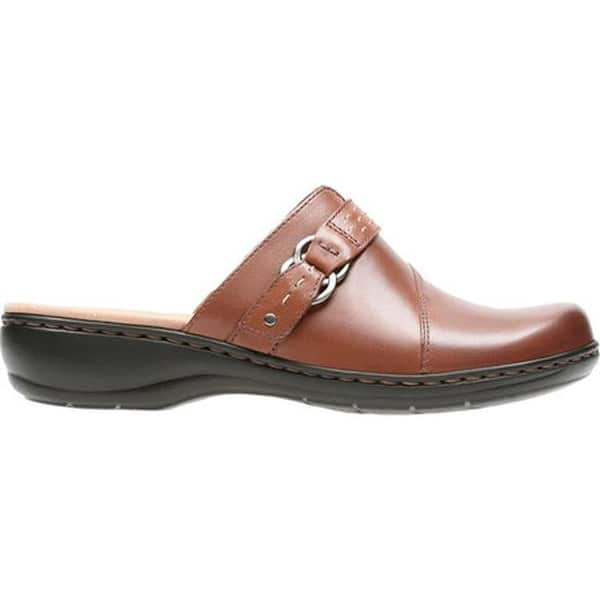 latest trends sale retailer unparalleled Shop Clarks Women's Leisa Sadie Clog Dark Tan Full Grain ...