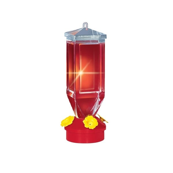 Perky Pet 201 Lantern Design Hummingbird Feeder, 18 Oz