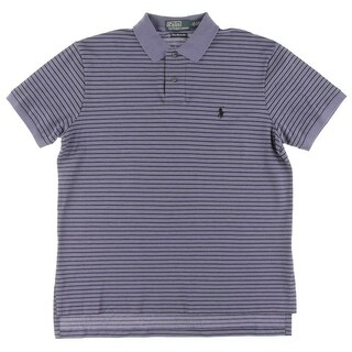 Polo Ralph Lauren Mens Polo Shirt Custom Fit Short Sleeves - L