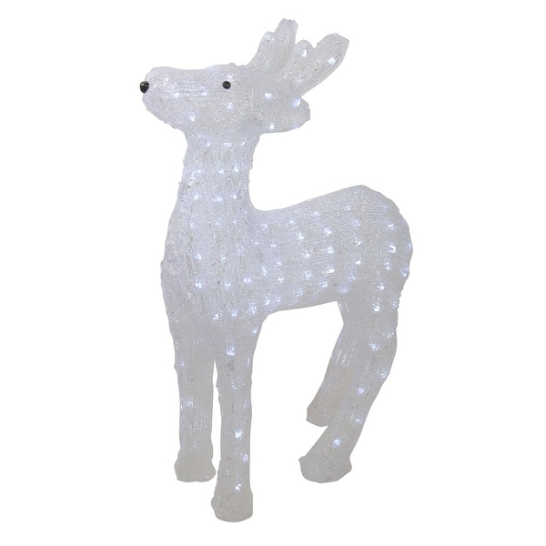 """Commercial Grade Christmas Decorations: Shop 23"""" Lighted Commercial Grade Acrylic Reindeer"""