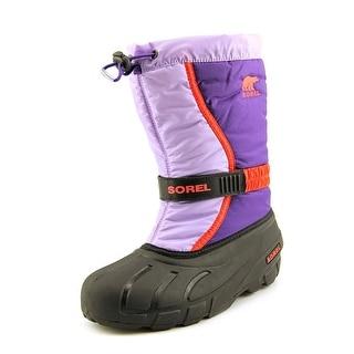 Sorel Flurry TP Women Round Toe Synthetic Purple Snow Boot