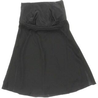 Tibi Womens Simone Silk Strapless Pullover Top - 4