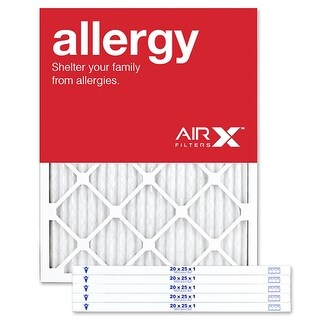 Replacement Air Filter 20x25x1 MERV 11 Comparable to Filtrete Allergen Defense MPR 1000 1085 1200, Odor Reduction MPR 1200, 6Pk
