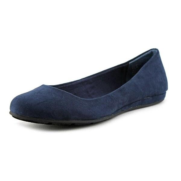 American Rag Ellie Women Round Toe Synthetic Blue Flats