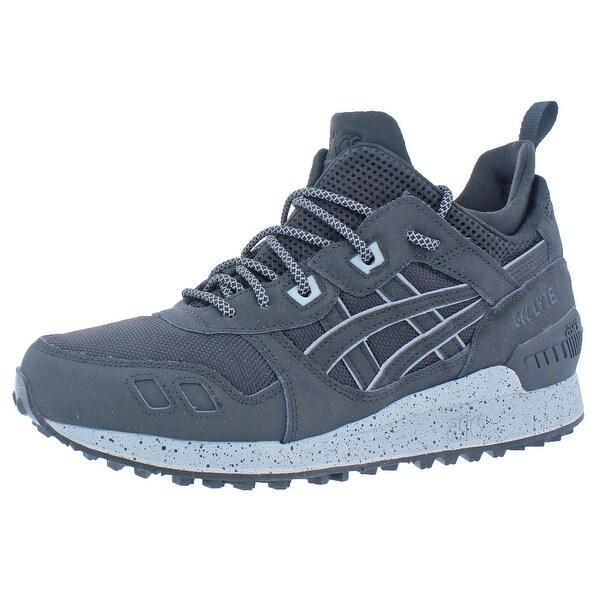 ASICS Men's Gel Lyte MT Casual Shoes BlackDark Grey,free