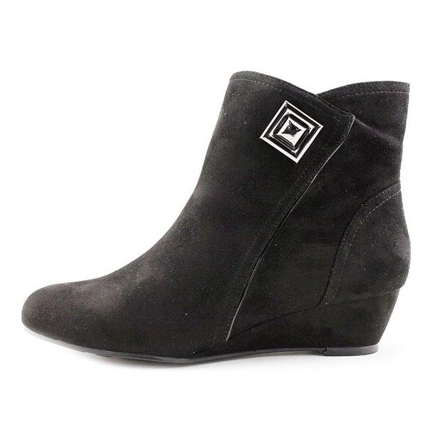 Impo Womens Giovanna Fabric Closed Toe Ankle Fashion Boots - 7.5