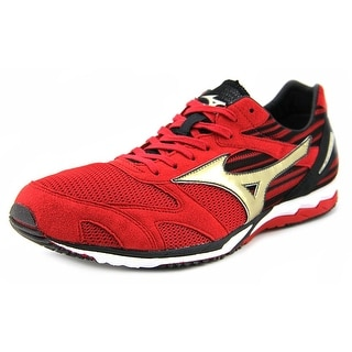 Mizuno Wave Ekiden SI Men Round Toe Synthetic Red Running Shoe