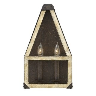Fredrick Ramond FR41202 2 Light ADA Compliant Wall Sconce from the Emilie collection