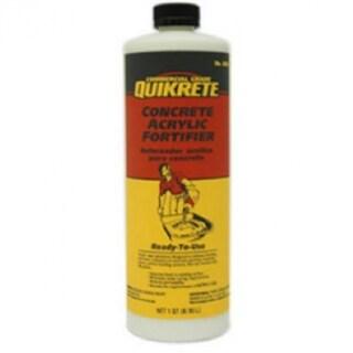 Quikrete 861014 Commercial Grade Concrete Acrylic Fortifier, 1-Qt