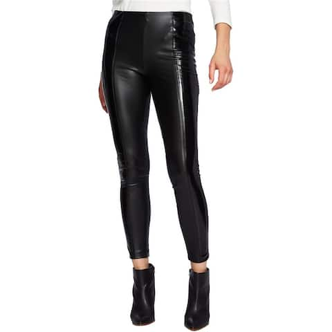 1.State Womens Faux Patent Casual Leggings