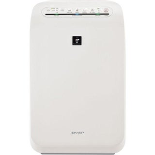 Sharp FP-F50UW Plasmacluster Ion Air Purifier with True HEPA Filtration (210 sq. ft.) - White
